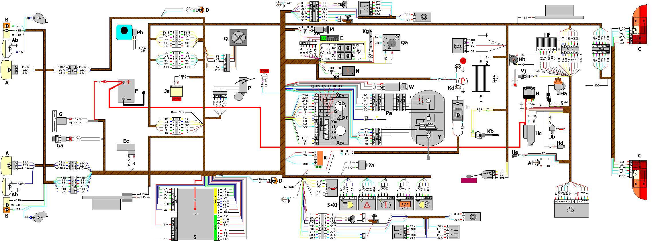 Peugeot 307 Heater Wiring Diagram Schematic 406 Faults Murena Skifte Vannpumpe Ta Ned Motor Blower